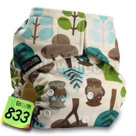 Zsebes, egyméretes bambusz pelenka (LittleBloom)