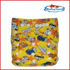 Zsebes, egyméretes mosható pelenka (Babyland)