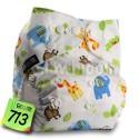 Zsebes mikroszálas mosható pelenka (4,5 kg – 15 kg)