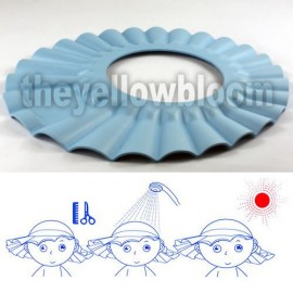 Hajmosást könnyítő kalap kék