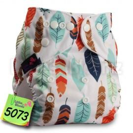 Zsebes, egyméretes mosható pelenka (LittleBloom)