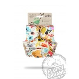 Újszülött méretű belső pelenka Fluffy Organic