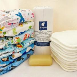Mosható pelenka napi készlet - alap csomag