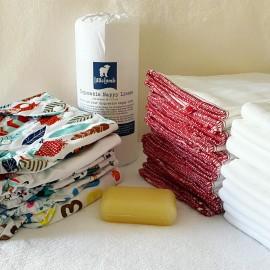 Mosható pelenka teljes készlet - alap csomag