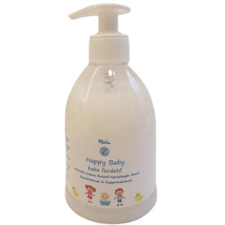 Happy Baby hidratáló krémes babafürdető 300ml